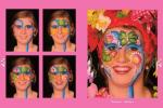 Schminkkoffer PartyXplosion 36x10gr. schmink 43574 + gratis Schminkboek Just For Fun Faces deel 2 2