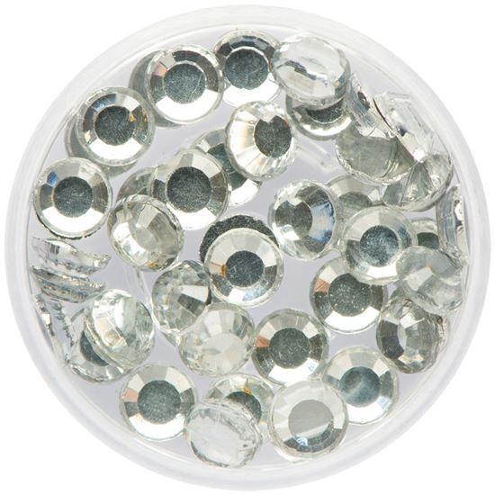 Glitter Steentjes / Face Diamonds Eulenspiegel KRISTAL XL art.nr.NH990575