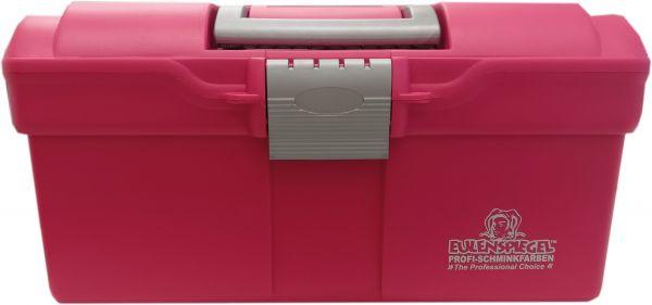 Kunststof schminkkoffer roze leeg NH990360