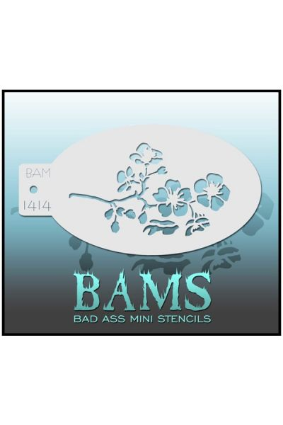 Bad Ass Mini Stencil BAMS Bloemen / Flowers 42966