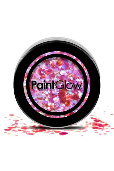 Paint Glow : Chunky Glitter HEART BREAKER 3 gram 43057