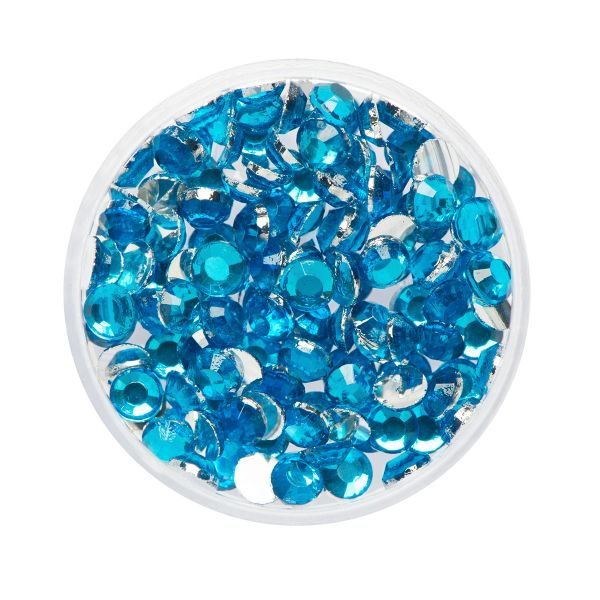 Glitter Steentjes / Face Diamonds Eulenspiegel AQUAMARINE NH990568