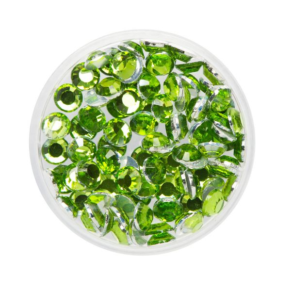 Glitter Steentjes / Face Diamonds Eulenspiegel PERIDOT NH990544