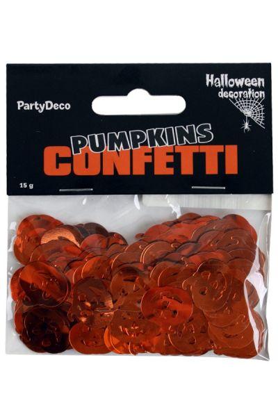 Confetti zakje 15gr. Pompoen / Pumkins 93078 / Halloween decoratie