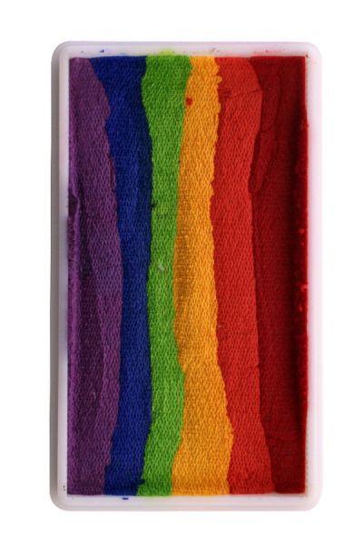 PartyXplosion Splitcake block 28 gram 43377 Vivid Rainbow
