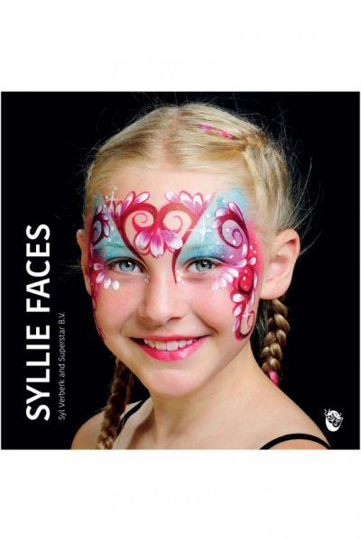 Schminkboek Syllie Faces by Syl Verberk and Superstar