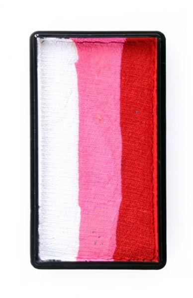 PartyXplosion Splitcake block 28 gram 43347 Red / Pink / White