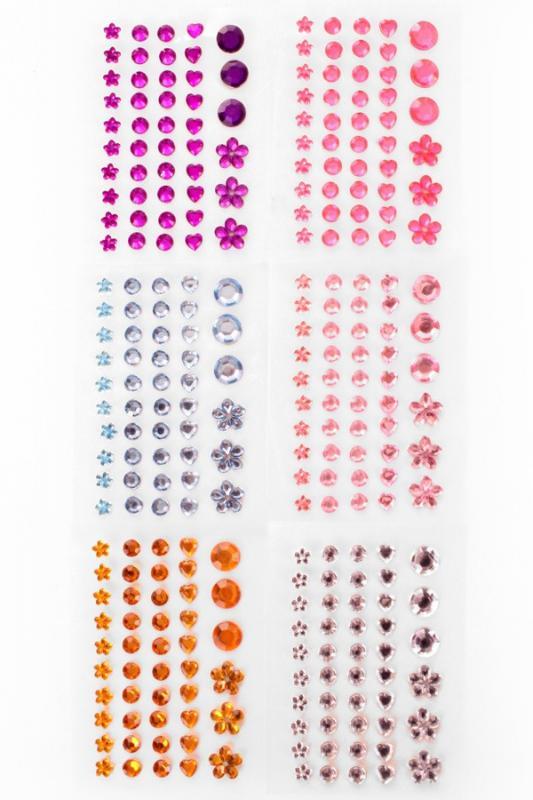 Plaksteentjes voor gezicht / body art.14431
