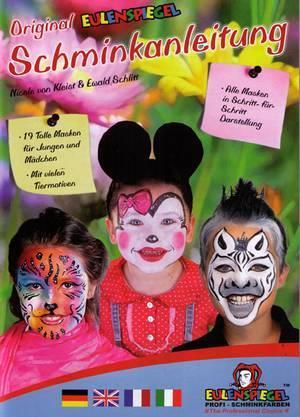Schminkboek : Original Schminkanleitung art.nr.40999608