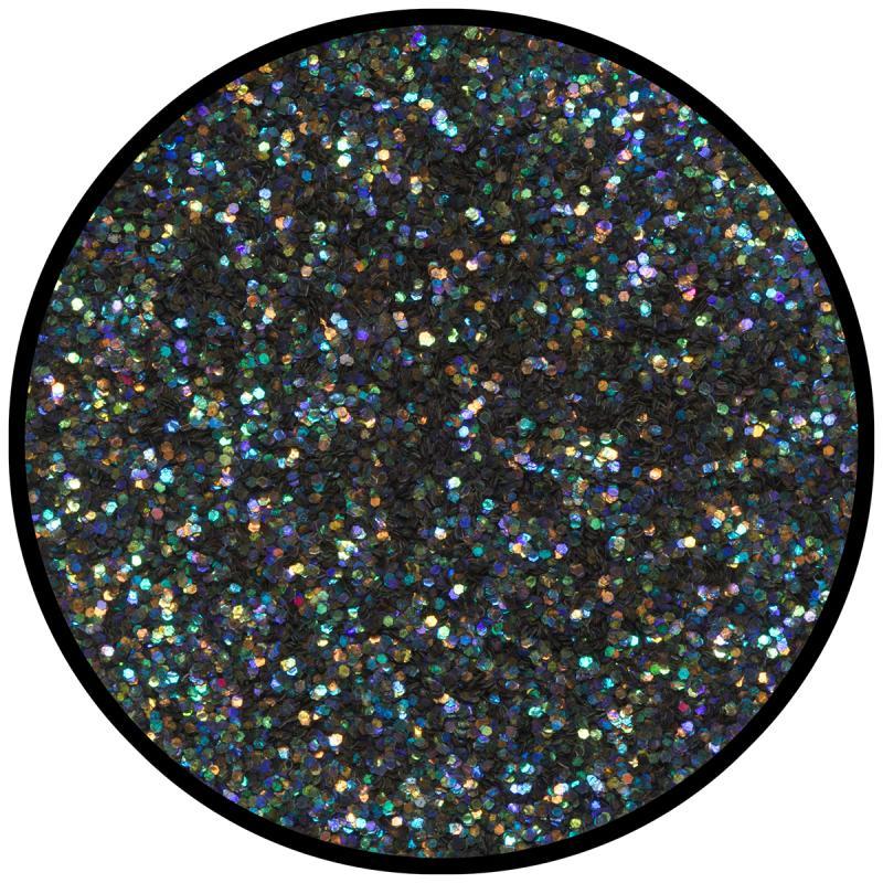 Eulenspiegel strooiglitter Nachtzwart 6 gram NH906088