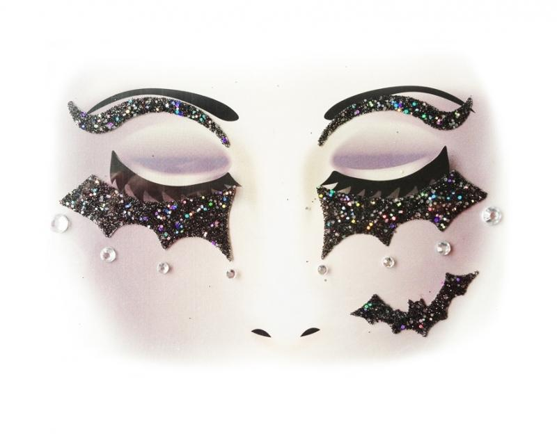 Glitterstickers Halloween/Griezel Batman 14424