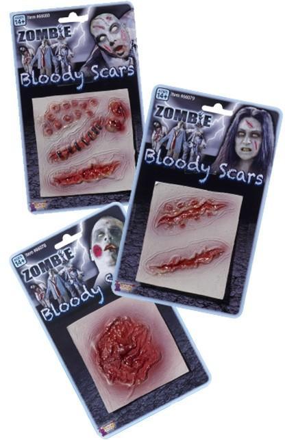 Littekens Zombie / Halloween / Griezel