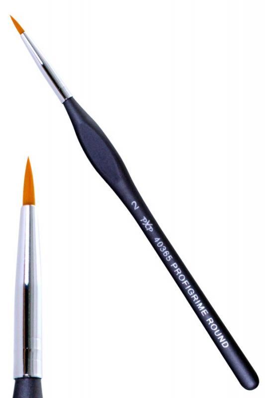 PartyXplosion penseel rond ergonomisch mt 2 art.nr. 40365