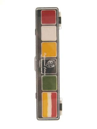 PartyXplosion schminkpalet Oeteldonck colours art.nr.43686 OP=OP