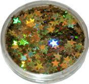 Strooiglitter Ster goud 2 gram Eulenspiegel NH902134