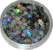 Strooiglitter Ster zilver 2 gram Eulenspiegel 902141